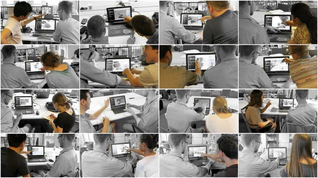 Collaborative development of plots