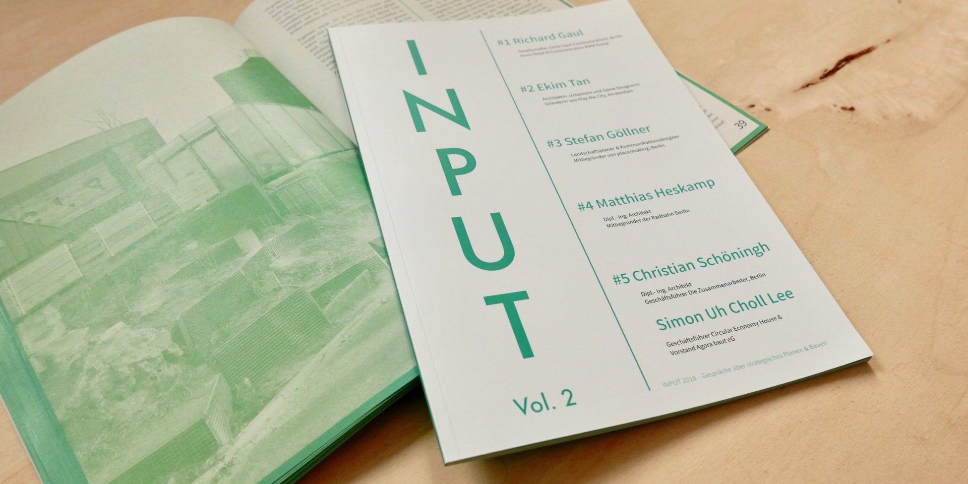 Input Magazine Issue #2 - 2018